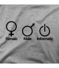 FEMALE MALE INFORMATIC