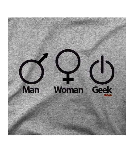 MAN WOMAN GEEK