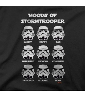 camisetas modelo MOODS OF STORMTROOPERS