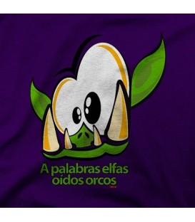 camisetas modelo OIDOS ORCOS