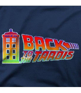 camisetas modelo BACK TO THE TARDIS