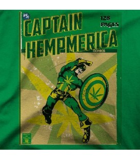camisetas modelo CAPTAIN HEMPMERICA