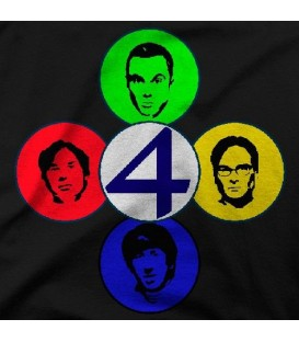 camisetas modelo FANTASTIC4