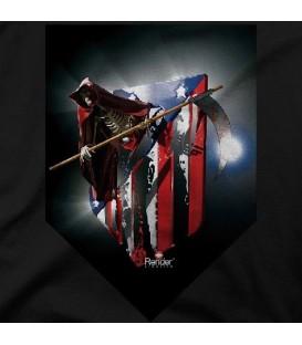 camisetas modelo ESQUELETO ATLETI BLACK