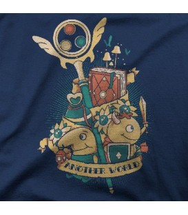 camisetas modelo ANOTHER WORLD