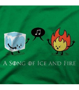 camisetas modelo A SONG OF ICE AND FIRE