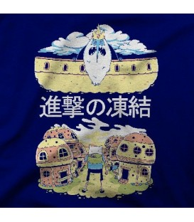 camisetas modelo ATTACK ON FREEZE