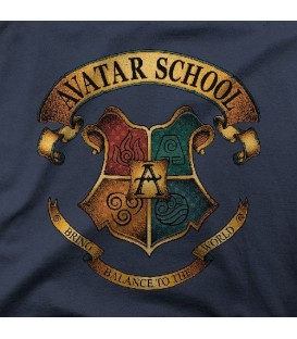 camisetas modelo AVATAR SCHOOL