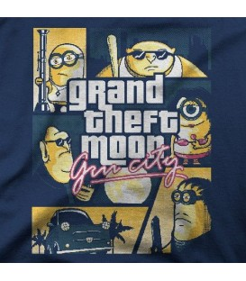 camisetas modelo GRAND THEFT MOON