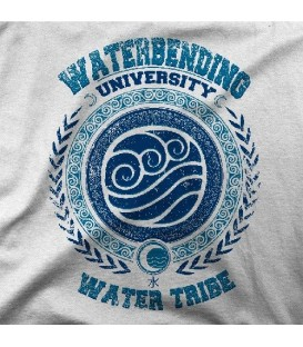 camisetas modelo WATERBENDING UNIVERSITY