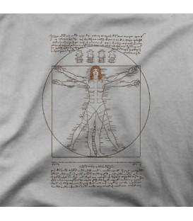 camisetas modelo VITRUVIAN LELOO