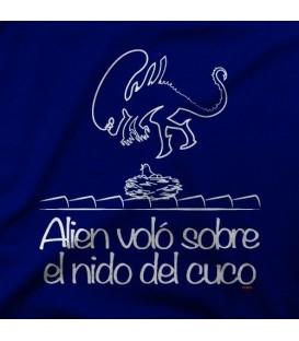camisetas modelo ALIEN VOLO SOBRE EL NIDO DEL CUCO