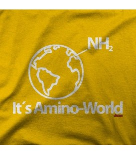 camisetas modelo AMINO WORLD