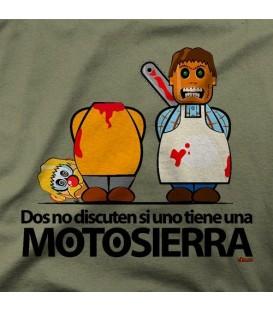 camisetas modelo DOS NO DISCUTEN