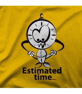 camisetas modelo ESTIMATED TIME