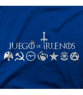camisetas modelo JUEGO DE TRUENOS