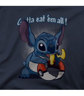 camisetas modelo GOTTA EAT EM ALL