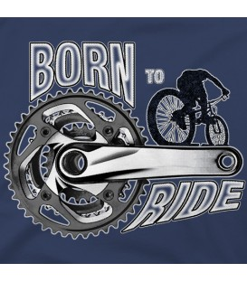 camisetas modelo BORN TO RIDE