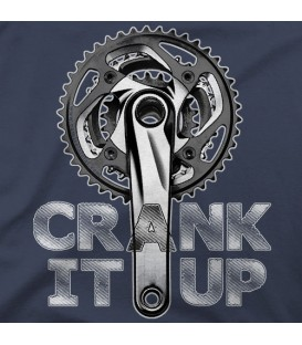 camisetas modelo CRANK IT UP