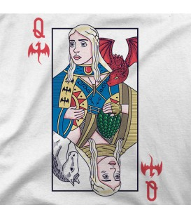 camisetas modelo QUEEN OF DRAGONS