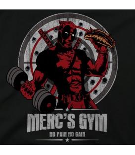 camisetas modelo MERC´S GYM