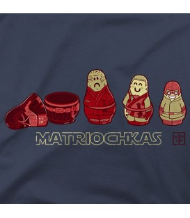 camisetas modelo MATRIOCHKAS