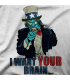I WANT YOUR BRAIN