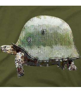 home modelo Tortuga Casco Militar
