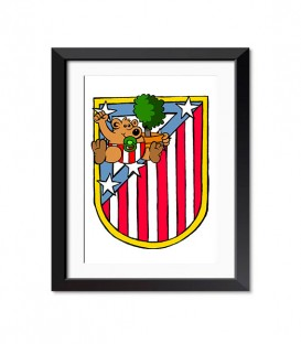 posters modelo Poster Atleti Chiquitin