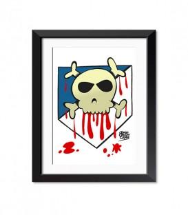 posters modelo Poster Atleti o muerte