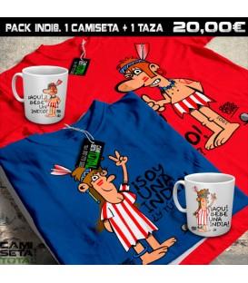 Pack Indi@ 1 taza + 1camiseta