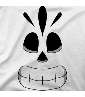 camisetas modelo Manny calavera