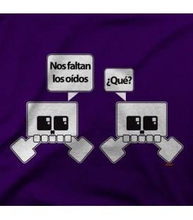 camisetas modelo CALAVERA OIDO
