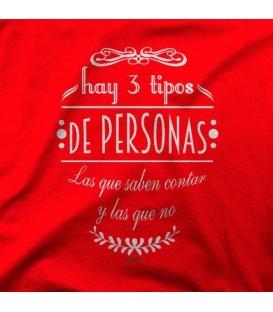 camisetas modelo 3 TIPOS DE PERSONAS
