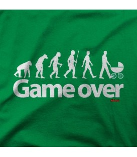 camisetas modelo GAME OVER