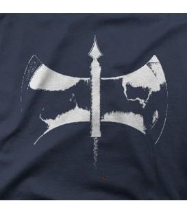camisetas modelo HACHA DOBLE B N