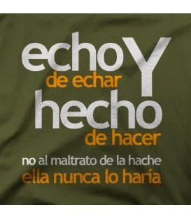 camisetas modelo HACHE 001
