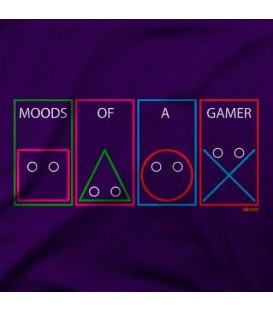 camisetas modelo MODDS OF A GAMER