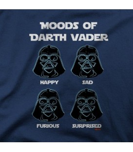 camisetas modelo MOODS OF DARTH VADER