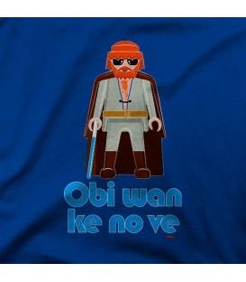 camisetas modelo OBI WAN KE NO VE
