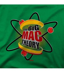 camisetas modelo THE BIG MAC THEORY