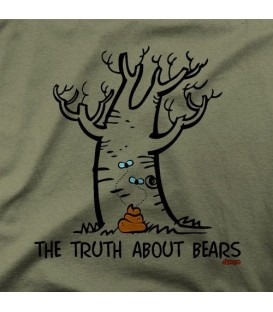 camisetas modelo THE TRUTH ABOUT BEARS