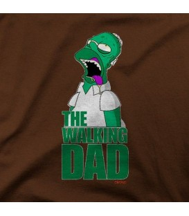 camisetas modelo THE WALKING DAD