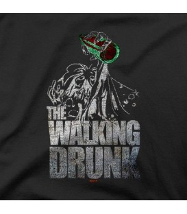 camisetas modelo THE WALKING DRUNK