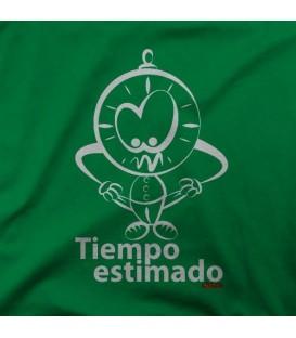 camisetas modelo TIEMPO ESTIMADO