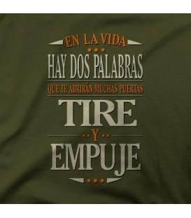 camisetas modelo TIRE Y EMPUJE
