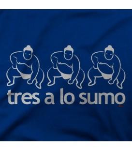 camisetas modelo TRES A LO SUMO