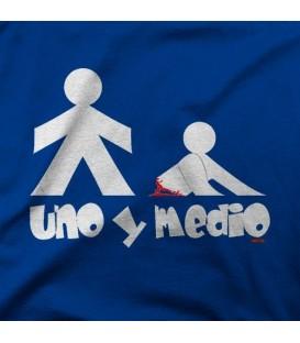 camisetas modelo UNO Y MEDIO