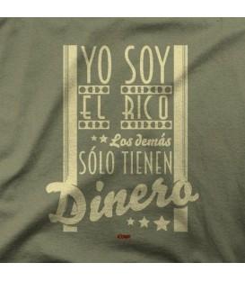 camisetas modelo YO SOY EL RICO