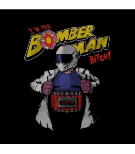 camisetas modelo THE BOMBERMAN